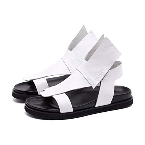 Männliche Leder Sandalen flip Flops offenen fußschutz Anti Slid Strand Schuhe Hausschuhe Sommer Outdoor Wasserschuhe für Party Geschenk
