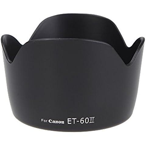 Andoer ET-60 II Parasol Flor de Lente para Canon EF 75-300MM F/4-5.6 III EF-S 55-250mm f/4-5.6 IS