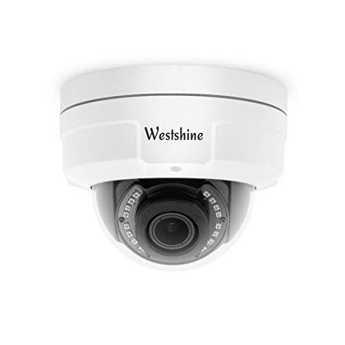 Westshine Security CCTV-Dome-Kamera 1080P 2.8-12mm Varifokus-Objektiv Vandalensichere Dome-Kamera 4-in-1 AHD/TVI/CVI/CVBS-Kamera mit OSD-Menü Nachtsicht Home Indoor Outdoor-Kameras 4 Indoor-dome-kameras