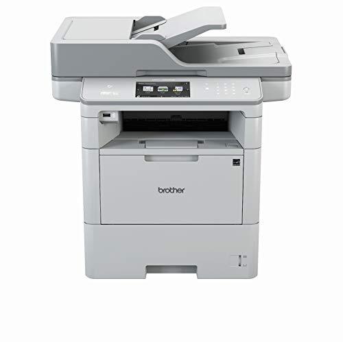 Brother MFC-L6900DW A4 MFP mono Laserdrucker (46 Seiten/Min., Drucken, scannen, kopieren, faxen, 1.200 x 1.200 dpi, Print AirBag für 750.000 Seiten) -
