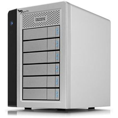 Apple Promise Pegasus R6 - Unidad RAID (12000 GB, 12 TB, 2000 GB, 78W, 55W, 9,2 kg)