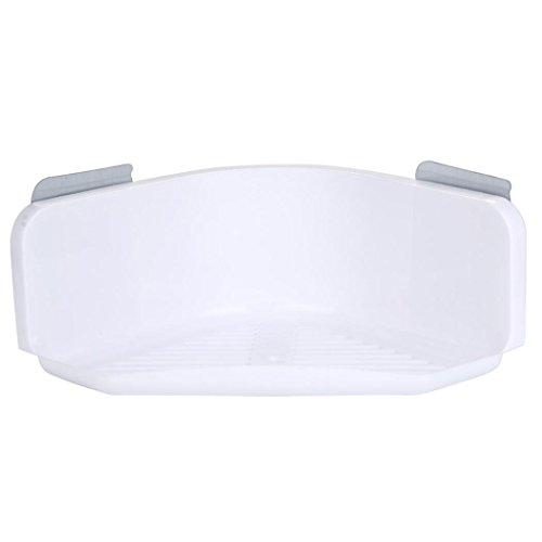 Piatto Doccia In Plastica.Cestino Wanshop Basic Doccia Angolare Per Doccia In Plastica Piatto Doccia Con Ventose Resistenti White