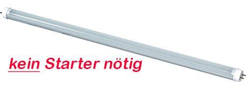 LED Leuchtröhre [kein Starter nötig!] T8 Länge 43,5 cm (435 mm) Leistung 7W Lumen 900lm Lichtfarbe 4500K Farbreinheit CRI >80 Durchmesser 26mm Sockel G13 opak cover -