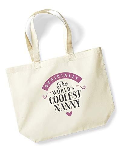 Nanny Birthday Or Christmas Gift Bag Tote Shopping Present