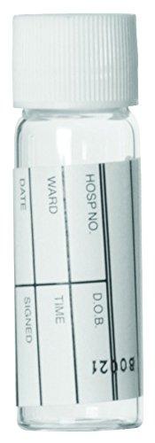 Wheaton 116091 Glas-Blutentnahmeröhrchen mit PP-Verschlusskappe, 5 mL (1870-er Pack)