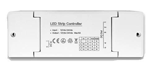 4 Kanal Dimmer Controller Treiber Dimmaktor ZIGBEE, 12/24V, kompatibel u.A. mit Osram Lightify® und IKEA TRÅDFRI® (Singen-treiber)