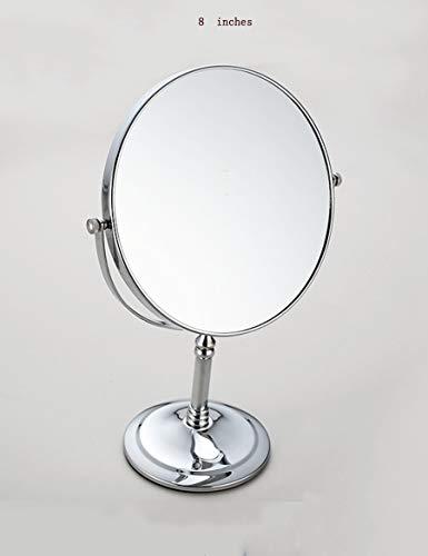 Tragbare Mini Spiegel Badezimmer Make-Up Schönheit Außenspiegel Badezimmer Ausziehbaren Spiegel Seitig Lupe Wand-Make-Up-Spiegel Geeignet Für Schlafzimmer Und Bad (Größe: M) (Außenspiegel Hardware)