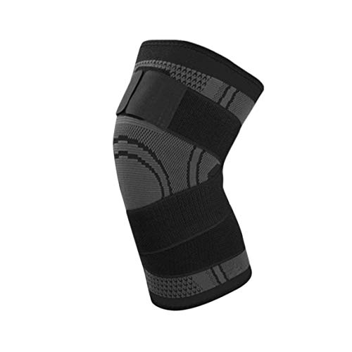 d820ec8210 Fantasyworld 3D Pressurized Fitness Bandage Knee Support Brace Elastic  Nylon Sports Compression Pad Sleeve for Running