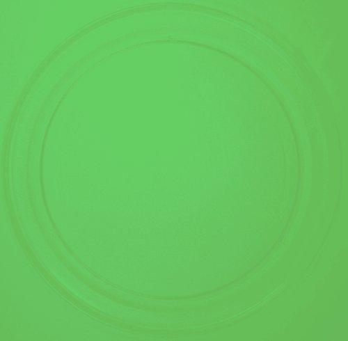 Mikrowellenteller / Drehteller / Glasteller für Mikrowelle # ersetzt Quigg Mikrowellenteller # Durchmesser Ø 36 cm / 360 mm # Ersatzteller # Ersatzteil für die Mikrowelle # Ersatz-Drehteller # OHNE Drehring # OHNE Drehkreuz # OHNE Mitnehmer