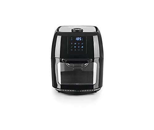 Gourmet Maxx 2019 - Friggitrice ad aria calda digitale, misura XXL, con ventilazione, senza olio, 1800 Watt, 9 litri