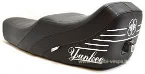 Komplette Yankee Modell Schwarz Sitz Für Vespa 50 90 125 Primavera Et3 Auto