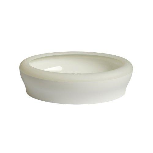 *Wolters Cat&Dog 40509 Designer-Katzen-Toilette VICCI mit Rand 53 x 41 x 14 cm, weiß*