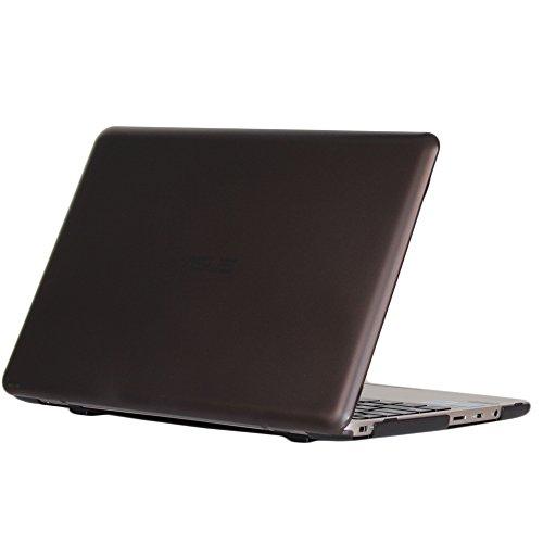 mCover Licht Hartschalentasche für 11,6-Zoll ASUS Vivobook E200HA / EeeBook X205TA / F205TA Serie (Schwarz E200HA/X205TA/F205TA)
