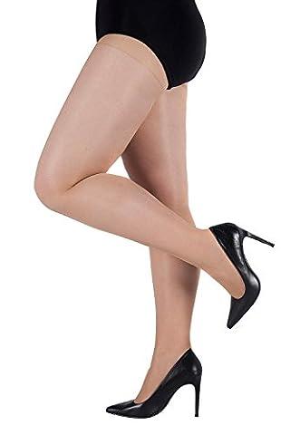 Ulla Popken Femme Grandes tailles Collants bodyforming- 40 deniers -