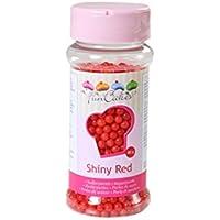 Perle di zucchero rosse 80