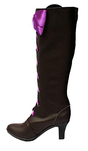 Cosstars Black Butler 2 Kuroshitsuji Alois Trancy Anime Cosplay Schuhe Stiefeletten Stiefel Lace Up Ballet Slippers