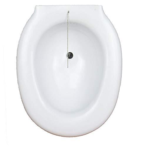 Auf die Toilette aufsetzbares Bidet | Sitzbecken | Bidet für WC | sehr einfach zu verwenden | Größe: 38 x 41,5 x 14 cm
