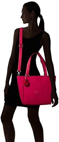 Kipling - New Shopper S, Borse Tote Donna Rosa (Cherry Pink C)