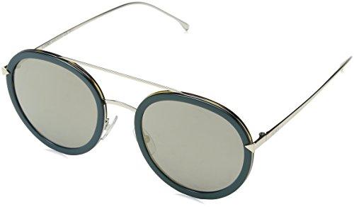 Fendi Damen FF 0156/S JO V59 Sonnenbrille, Blau (Bluette Gold Bronze Grey Speckled), 51