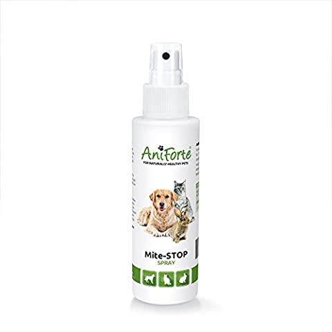 AniForte Insect Stop Spray 100ml: Rapid Insect & Mite Repellent & Treatment For Dogs, Cats, &