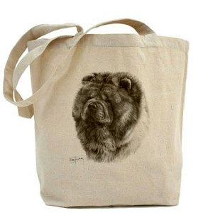 mike-sibley-chow-chow-tela-cotone-naturale-shopper-tote-bag