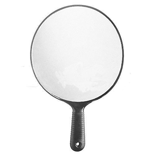 Specchio rotondo con manico antiscivolo per salone parrucchiere parrucchieri