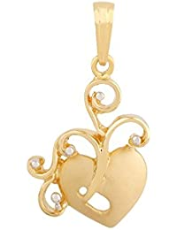 TBZ - The Original 22KT Yellow Gold Pendant for Women