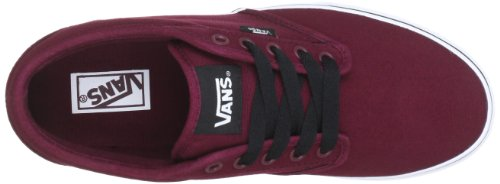 Vans M ATWOOD (CANVAS) OXBLOO, Sneaker uomo Rosso (Rot ((Canvas) oxbloo / 8J3))