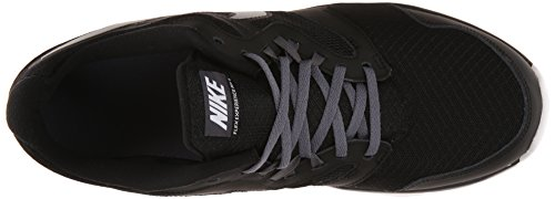 Flex Experience Rnmens Running Shoe Black / Metallic Silver / Dark Grey Grey / White