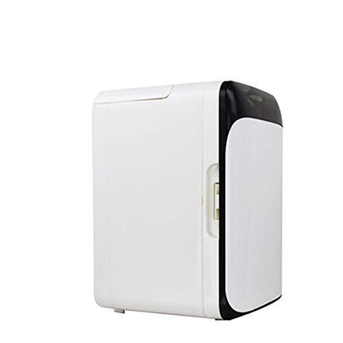 Mini Congelateur En Acier Inoxydable Double 10 L 12V Usage Au Bureau Ou Camping La Conduite Voyage PÊChe ExtÉRieur Et Utilisation À La Maison