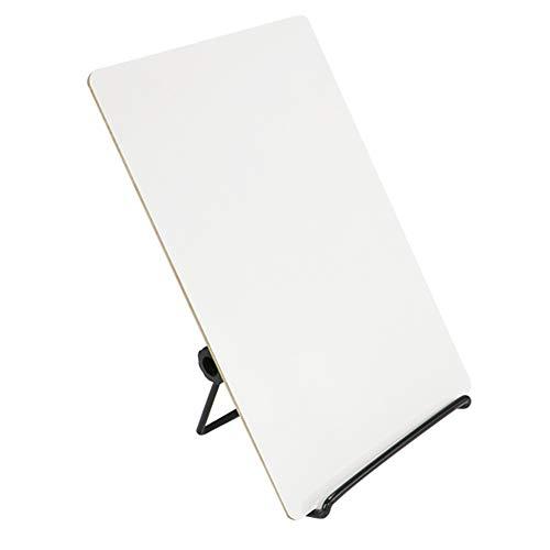 fel, trocken abwischbar, tragbar, abnehmbare To-Do-Liste, Notizblock für Büro, Zuhause und Schule 5.91x8.27 inch/15x21cm weiß ()