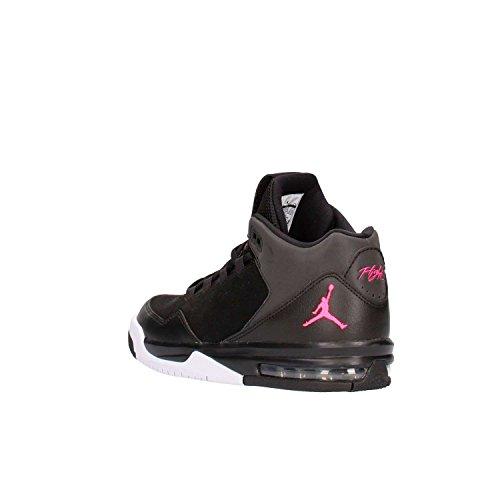 Nike Jordan Flight Origin 2 (GS) Sneaker Turnschuhe Basketballschuhe Schuhe für Jungen Black/Hyper Pink-White