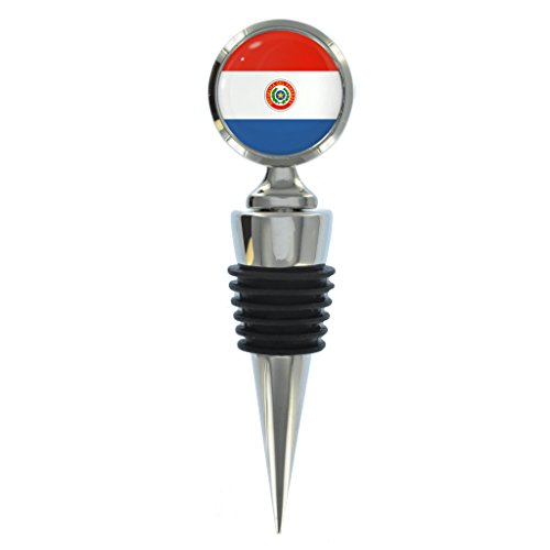 Paraguay Flagge Design Wein Flasche Stopper
