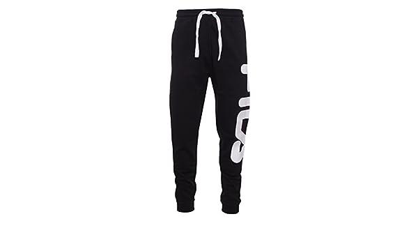 Fila Pantalon Homme Noir Noir Noir 48: