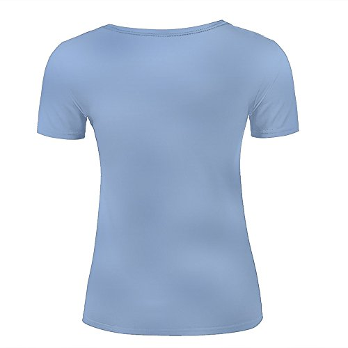 WEIYI BO Men T-Shirt 3D Digital Pinted Dock On The Lake Crewneck Casual Tee Shirt Tops D