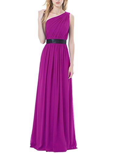 Bridal_Mall - Robe de mariage - Trapèze - Sans Manche - Femme Fuchsia