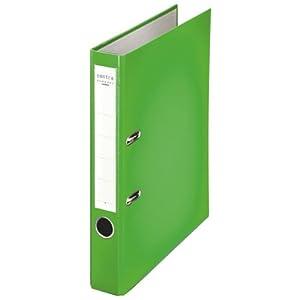 Esselte Leitz 231146 - Archivador de Anillas A4 con Palanca, Verde