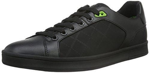 Boss Green Rayadv Tenn Nypr 10191433 01, Baskets Basses Homme Noir (Black 001)