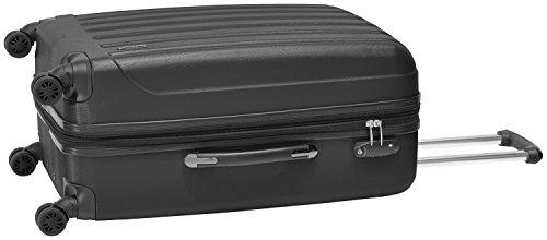 Packenger Velvet Koffer, Trolley, Hartschale 3er-Set in Schwarz, Größe M, L und XL - 8