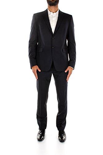 Anzüge Valentino Herren Wolle Blau JV0CBN0026S598 Blau 52 (Valentino Anzüge Herren)