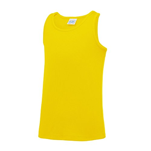 AWDis-Just-Cool-ChildrensKids-Plain-Sleeveless-Vest-Top