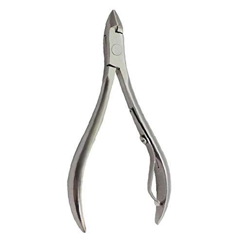 Fußpflege Nail Clipper (Nail Art Clipper Hautzange Edelstahl-Nagelschneider Nail Art Werkzeug Zangen Schneid-Scherer-Maniküre Pedicure Werkzeuge)