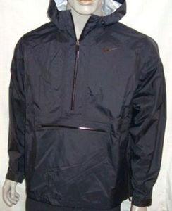 Nike Storm FIT M10 Windrunner Windbreaker Jacke Full Zip Hoodie schwarz, Größe:S (Full Jacke Hoodie Zip)