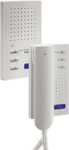 TCS ISH3030-0140 Audio Türtelefon 4 Tasten ISH3030 AP white
