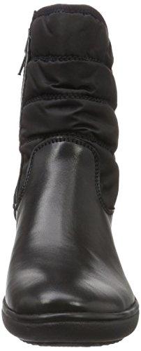Romika - Savona 05, Stivali a metà gamba con imbottitura pesante Donna Nero (Nero (Nero 100))