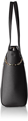 Tommy Hilfiger TH Chain Medium, Sacchetto Donna, 12 x 26 x 32 cm (b x h x t) Nero (Black)