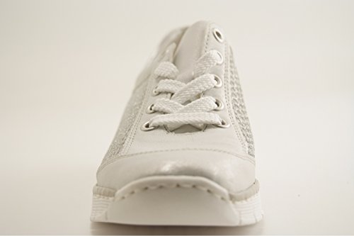 537po Rieker Rieker Rieker Sneaker Blanc Blanc Sneaker 537po 537po Blanc nC6WCx