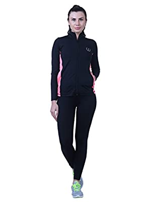 ONESPORT Womens Solid Sports Jacket (ONSP50BL)