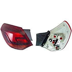 Left Passenger Side Rear Lamp Tail Light (5-Door Hatchback Smoked Type no Bulbholder)