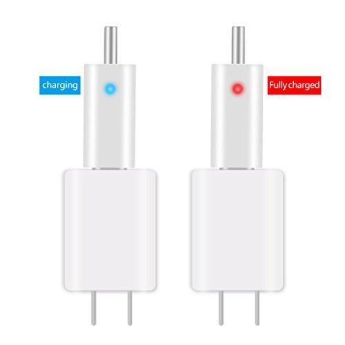 Cuigu Akku-Schwimmerbatterie, elektrisch, USB, Wiederaufladbar, CR425 Glow Stick Ladegerät -
